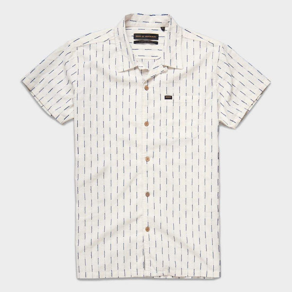 product: Deus Ex Machina Dean Vertical Shirt Off White