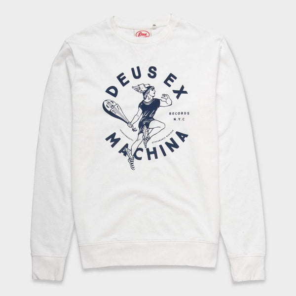 product: Deus Ex Machina Elevate Crew Vintage White