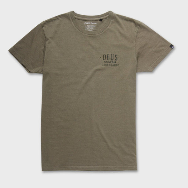 product: Deus Ex Machina Everitt Tee Olive