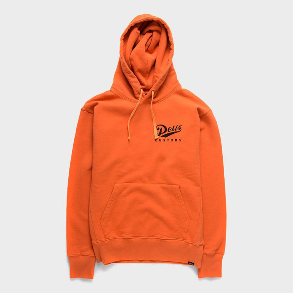 product: Deus Ex Machina Austin Station Hoodie Harvest Orange