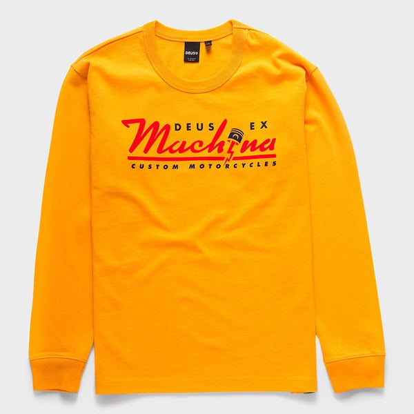 product: Deus Ex Machina Bolting Shirt Butterscotch Yellow