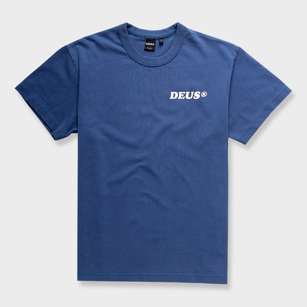 product: Deus Ex Machina Costa T-Shirt Dusty Blue