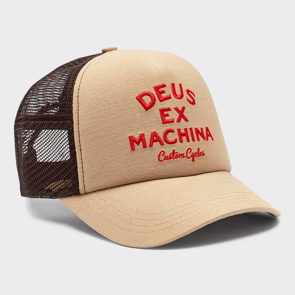 product: Deus Ex Machina Diego Trucker Hat Safari