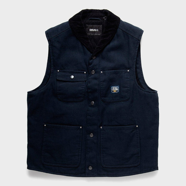 product: Deus Ex Machina Earl Canvas Vest Black
