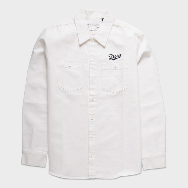 product: Deus Ex Machina Forecourt Shirt White