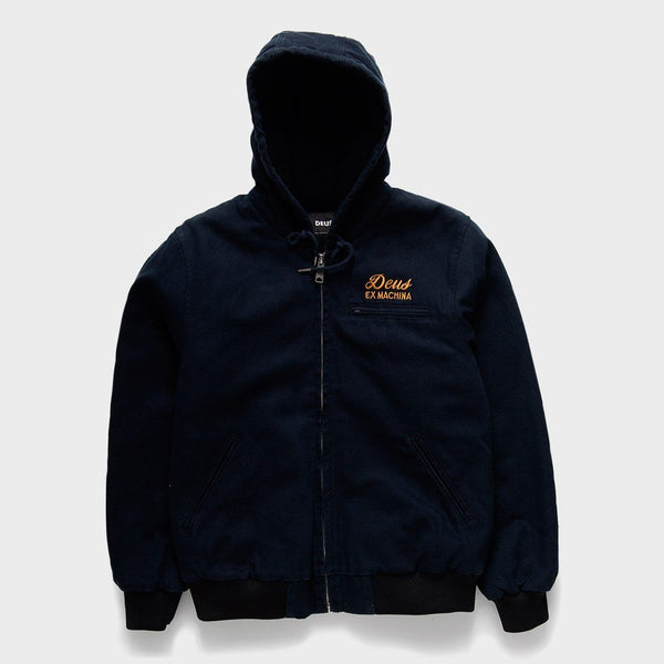product: Deus Ex Machina Franklin Hooded Jacket Black