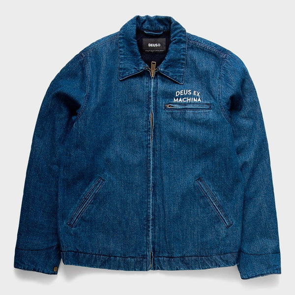 product: Deus Ex Machina Llyod Jacket Mid Blue Denim
