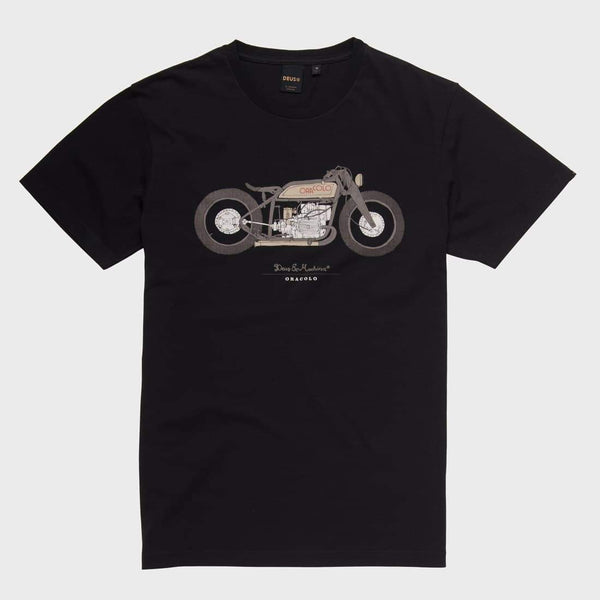 product: Deus Ex Machina Oracolo Tee Black