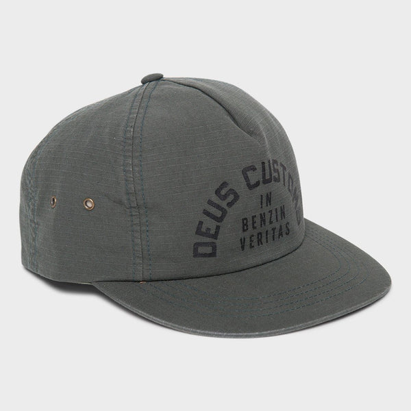 product: Deus Ex Machina Reignbow Cap Forest Green