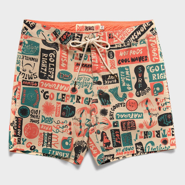 product: Deus Ex Machina Unshore Boardshort Multi