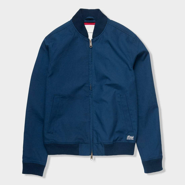 product: Deus Ex Machina Garth Bomber Washed Navy