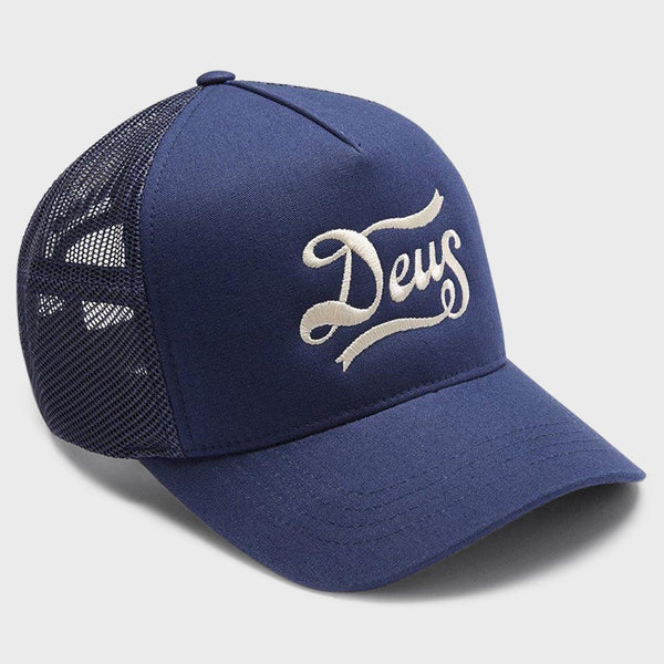 product: Deus Ex Machina Jones Trucker Cap Navy
