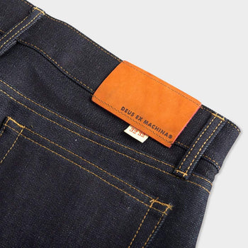 product: Deus Ex Machina Knox Straight Denim Raw Indigo