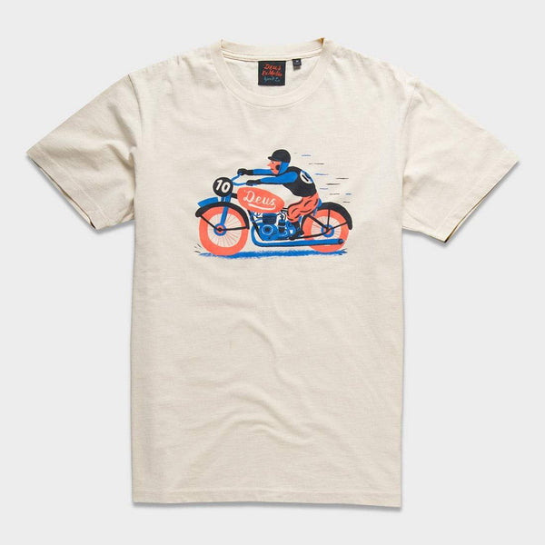 product: Deus Ex Machina Necro T-Shirt Off White
