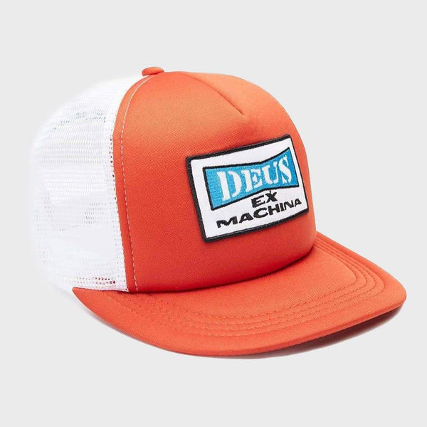 product: Deus Ex Machina One Trucker Red