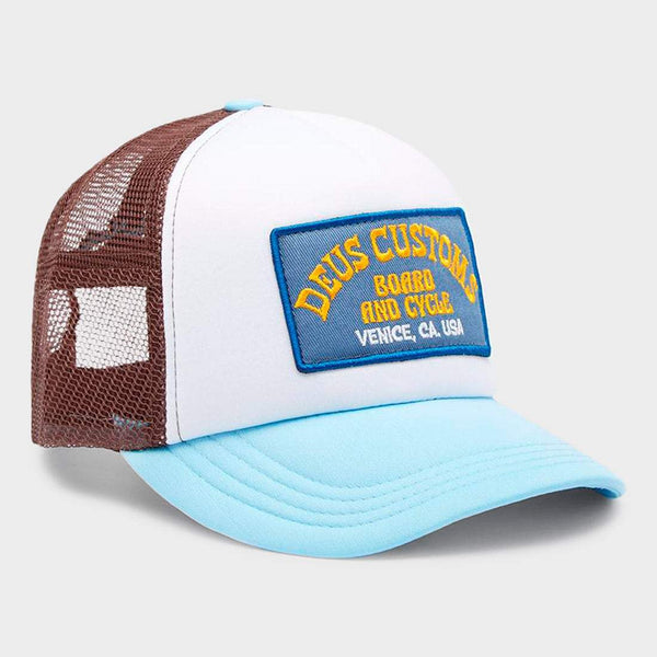 product: Deus Ex Machina Soup Trucker Sky