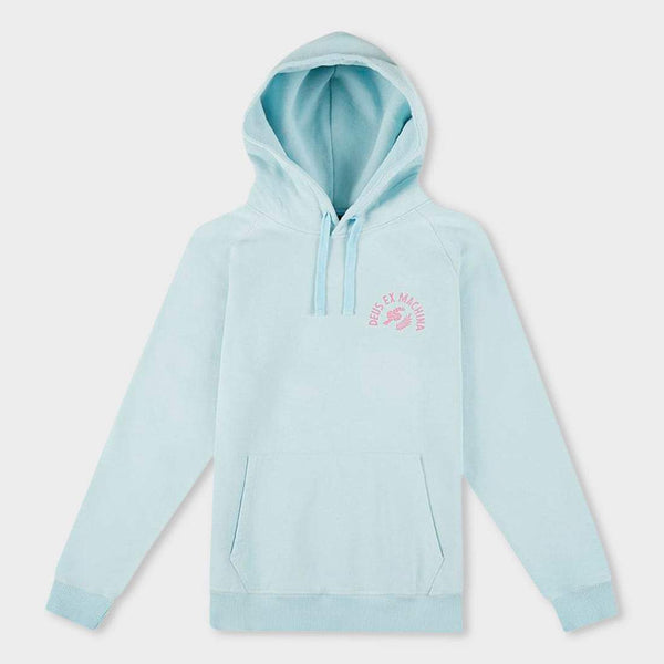 product: Deus Ex Machina Sunbleached Post Modern Hoodie Sky Rose