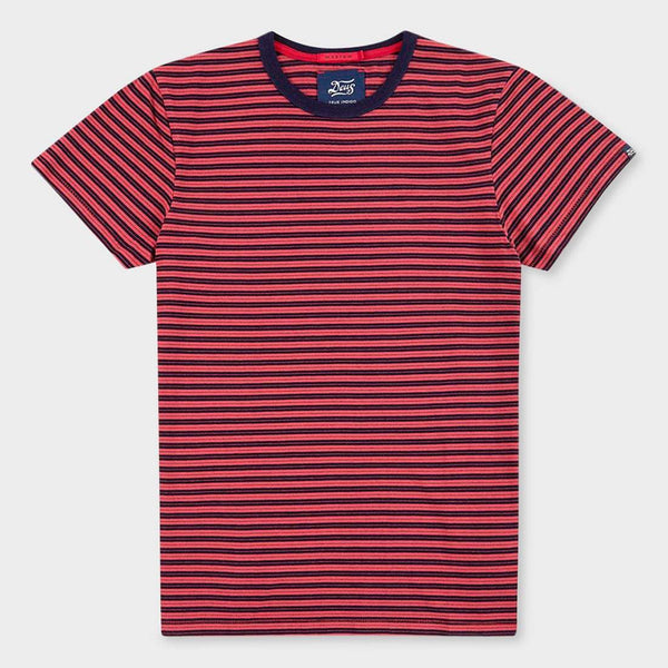 product: Deus Ex Machina Wei Indigo Stripe Red