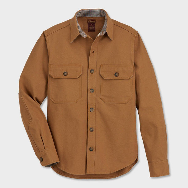 product: Dickies 1922 Rugged 9oz Cotton Duck Shirt Brown