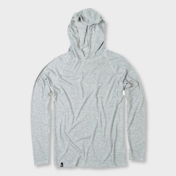 product: Duckworth Vapor Wool Hoody Standard Grey