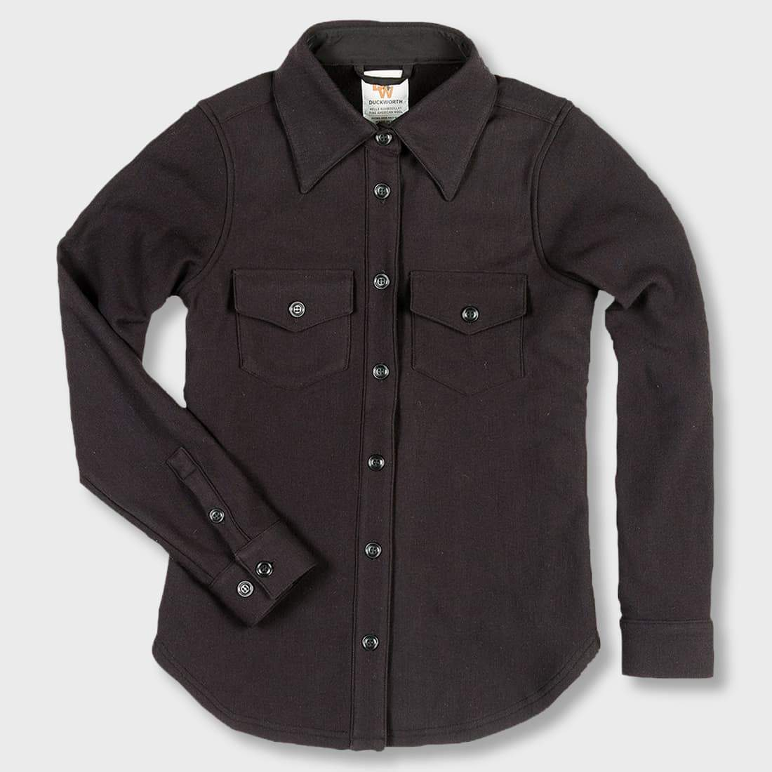 Duckworth Women's Powder Hi-Line Shirt Black