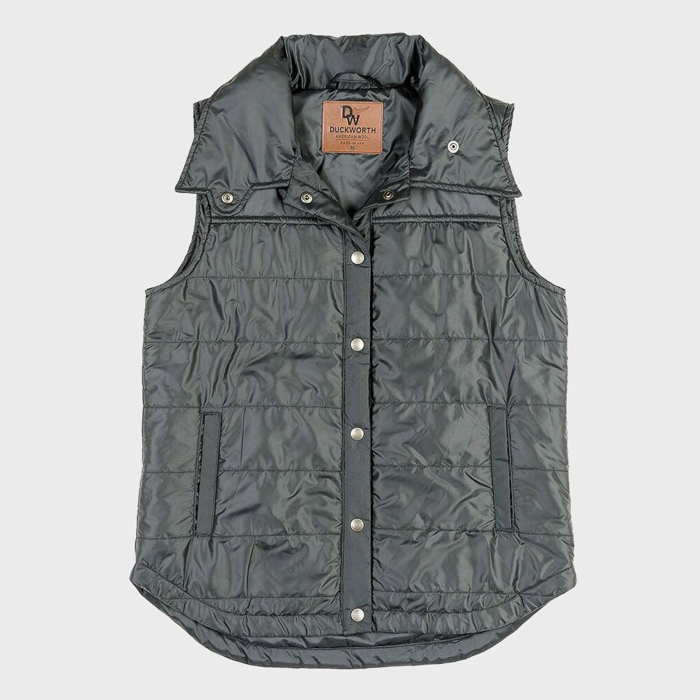 Duckworth Woolcloud Women's Vest Black
