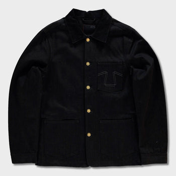 product: Eat Dust Chore Jacket 673 Black Denim