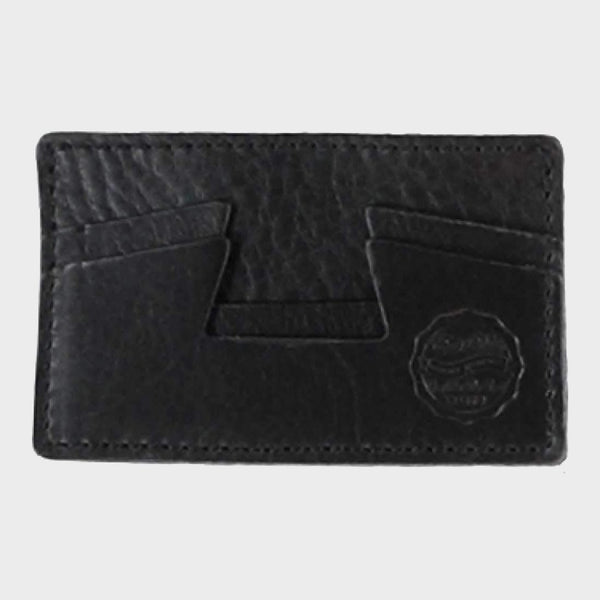product: Eat Dust Leather CC Holder Black