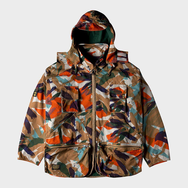 product: ELEMENT N. Cabourn Alder Hunting Parka Military