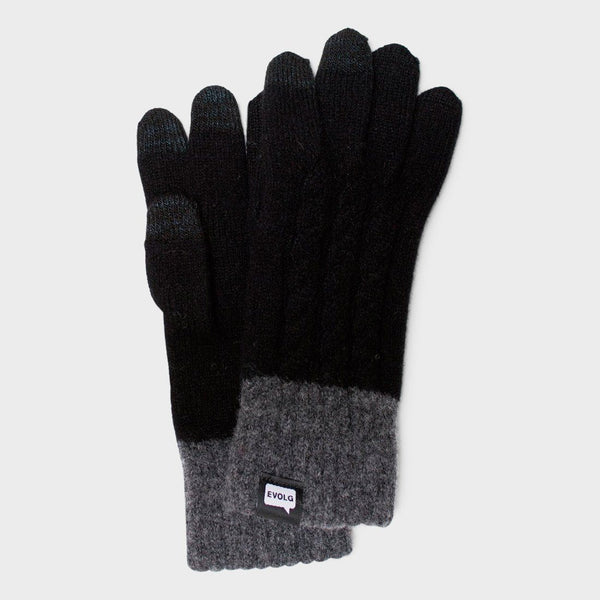 product: Evolg Minos Glove Black x Charcoal