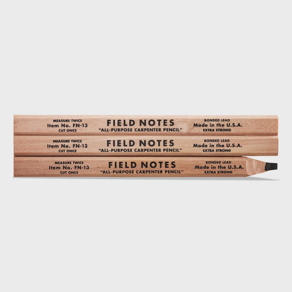 product: Field Notes Carpenter Pencil 3 Pack