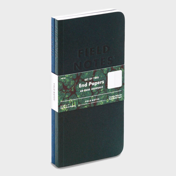 product: Field Notes End Papers (2-Pack) Black