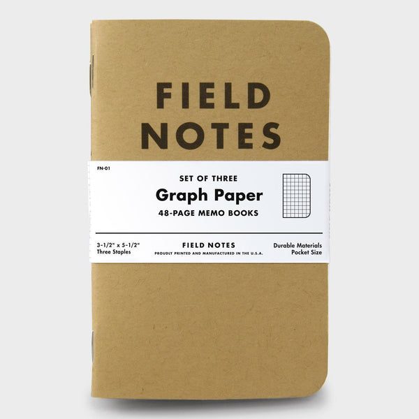 product: Field Notes Graph (3-pack)