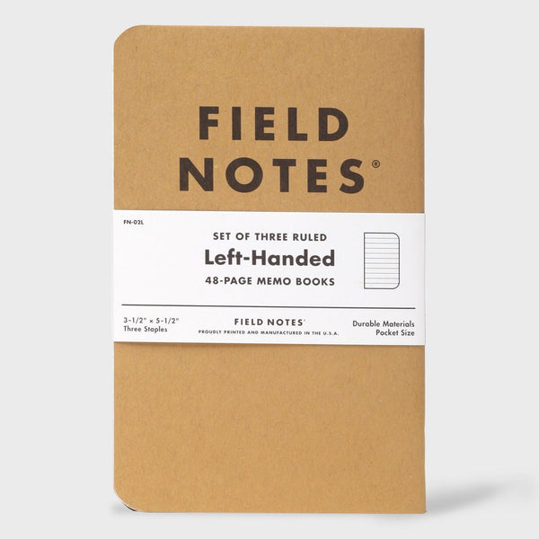 product: Field Notes Left Handed Memo Book