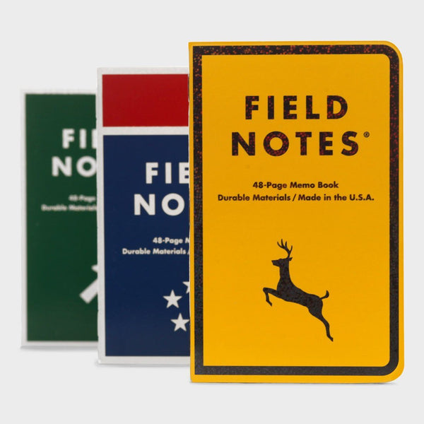 product: Field Notes Mile Marker 3-Pack
