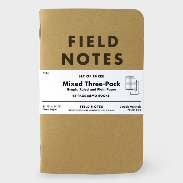 product: Field Notes Mixed (3-pack)