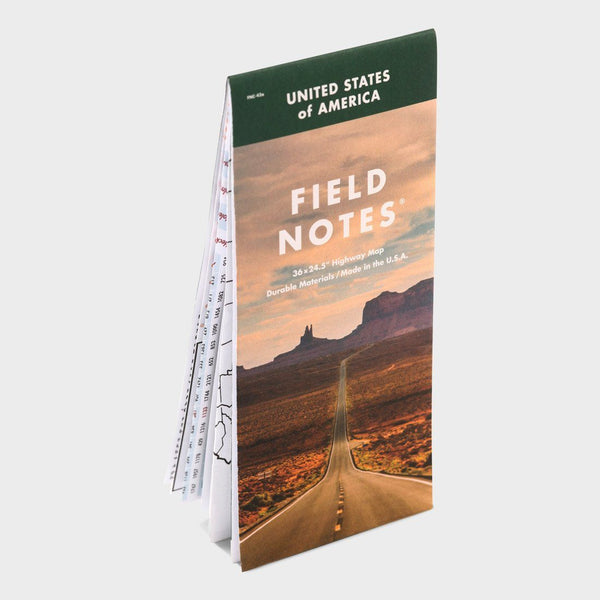 product: Field Notes Nat'l Highway Map