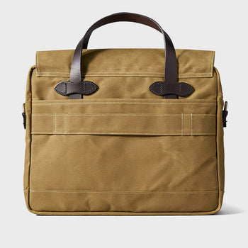 product: Filson 24 Hour Tin Briefcase Dark Tan