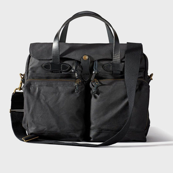 product: Filson 24-Hour Tin Briefcase Black