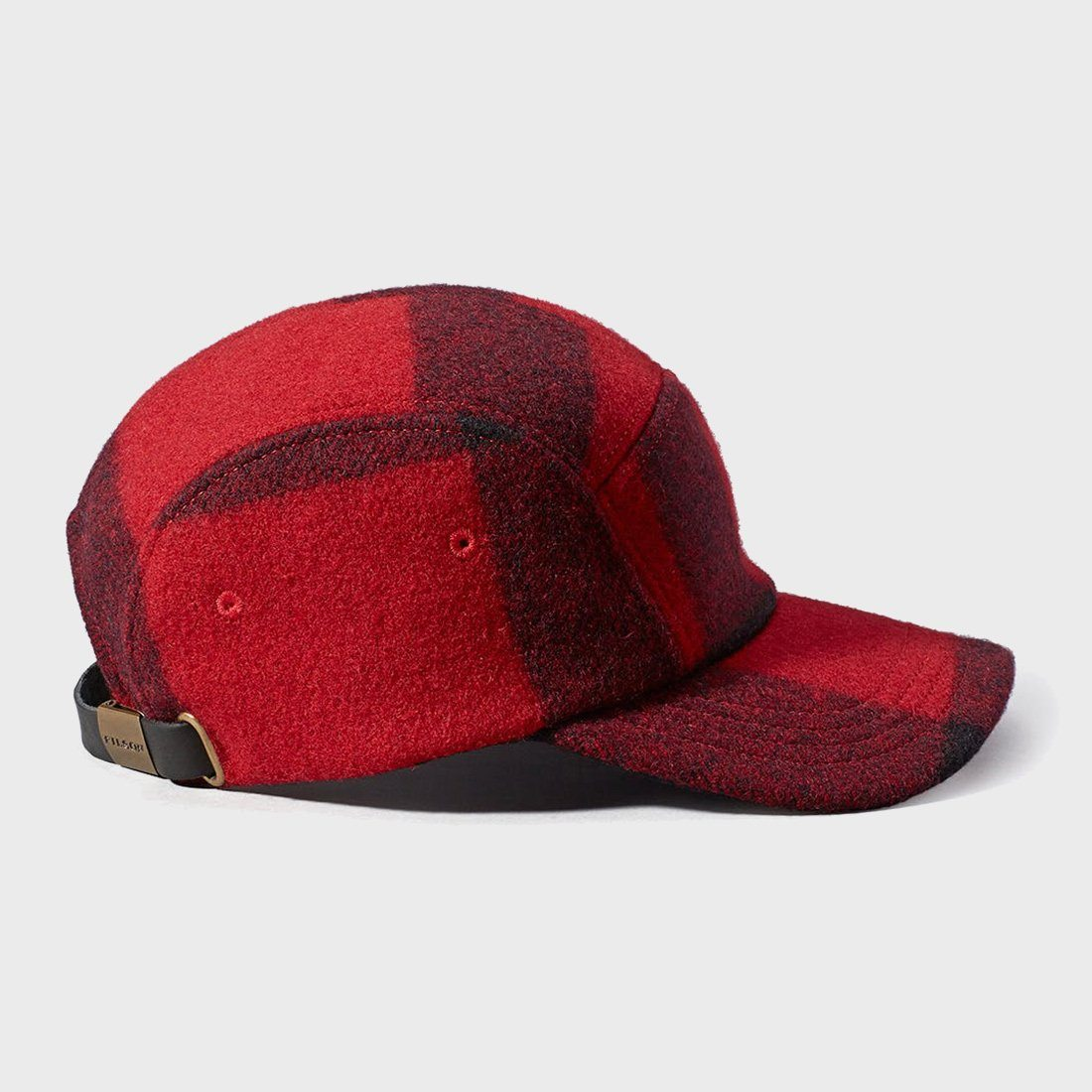 6bf3af695f5a6 ... product  Filson 5 Panel Cap Red Black