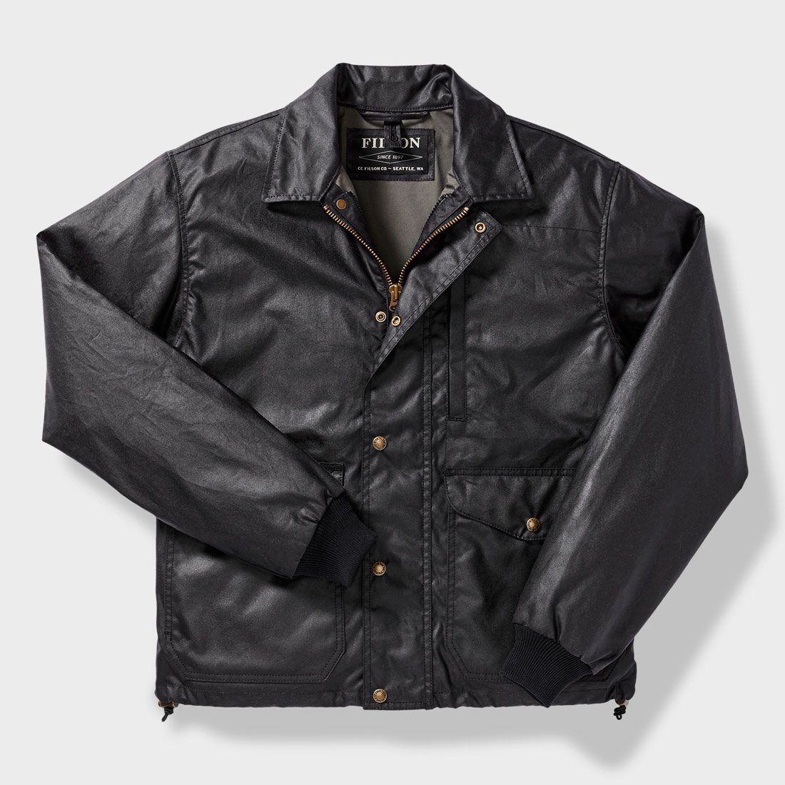 Filson Aberdeen Work Jacket Blue Coal