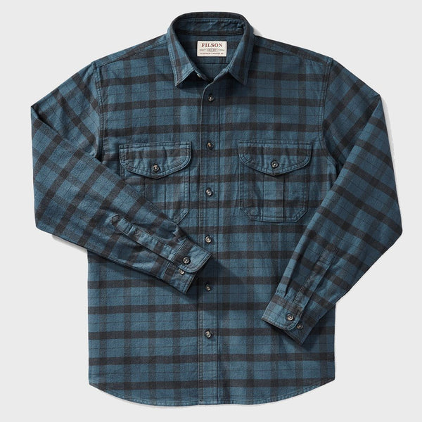 product: Filson Alaskan Guide Shirt Midnight/Black