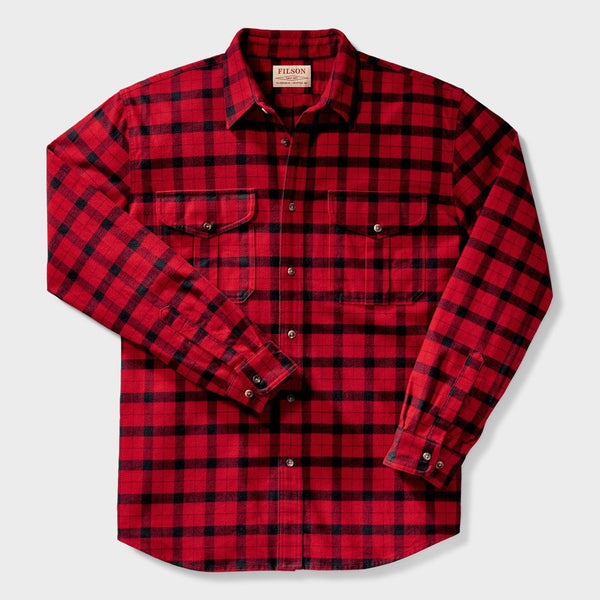 product: Filson Alaskan Guide Shirt Red/ Black Plaid