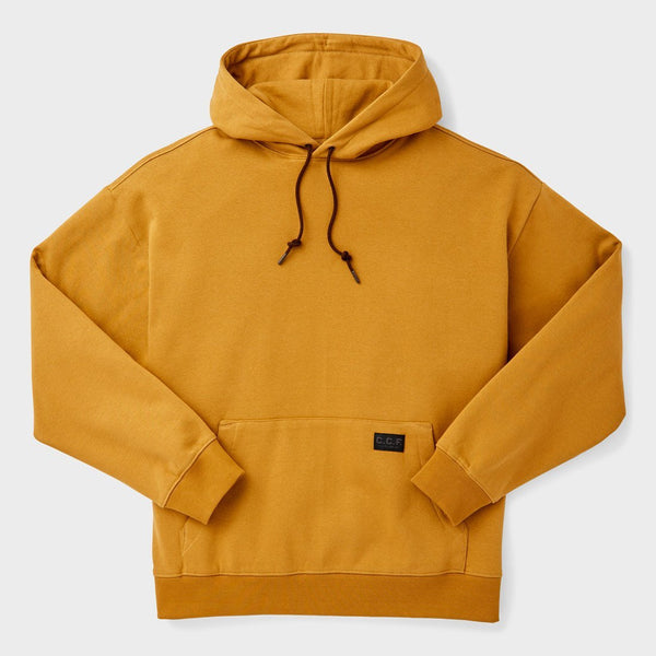 product: Filson CCF Pullover Hooded Sweatshirt Bronze Brown