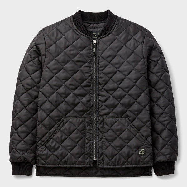product: Filson CCF Quilted Utility Jacket Black
