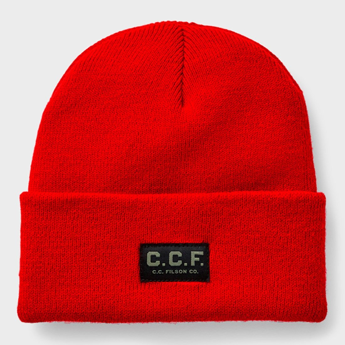 Filson CCF Watch Cap Dark Red