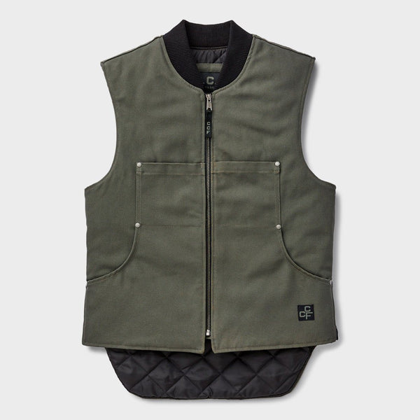 product: Filson CCF Work Vest Green