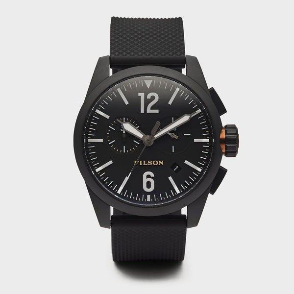 product: Filson Chronograph Watch Black