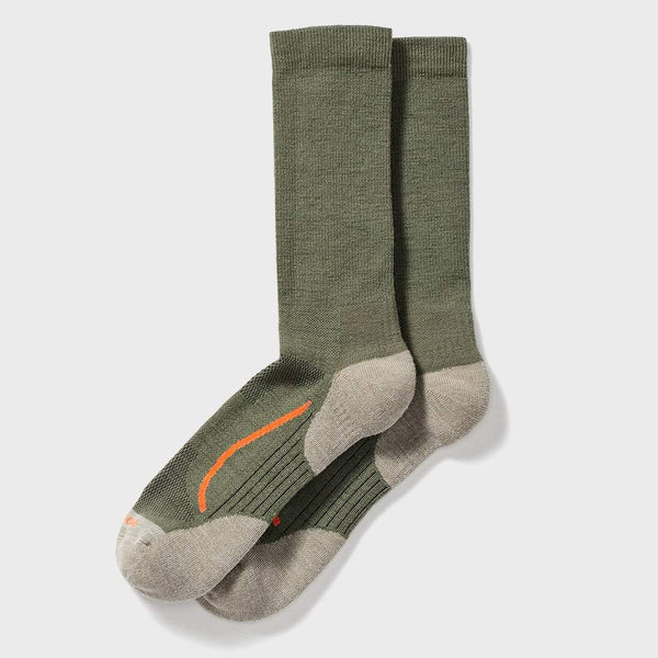 product: Filson X Country Outdoorsman Sock Green/ Blaze