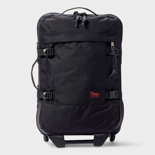 product: Filson Dryden 2-Wheel Carry-On Dark Navy